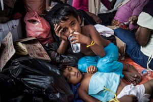 Rohingya children from Burma and Bangladesh have fled persecution and poverty only to be abandoned at sea by human traffickers.