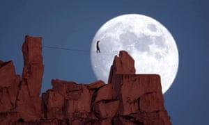 Dean Potter moonwalk National Geographic