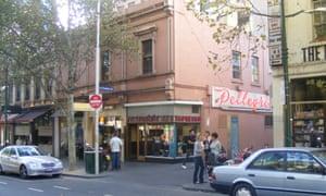 Pelligrini's - right next to The Paperback bookstore.
