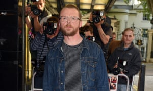 Simon Pegg at the London premiere of Man Up.