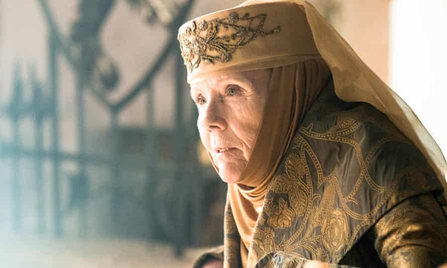 Queen of Thorns…Diana Rigg as Olenna Tyrell