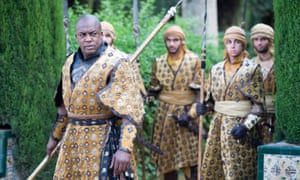 DeObia Oparei as Areo Hotah in Unbowed, Unbent, Unbroken
