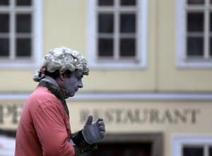 Street performance, Prague