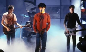 David Gedge fronting the Wedding Present on Top of the Pops during their heyday in 1990.