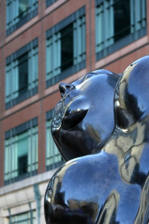 Broadgate Venus by Fernando Botero, London