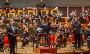 Andris Nelsons conducting the CBSO at Symphony Hall, Birmingham, on 17 May