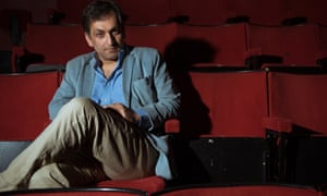 Amir Amirani, director of We Are Many, before a Guardian Membership preview screening at the Rio Cinema in Dalston, north-east London, 17 May 2015.
