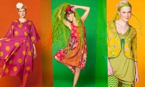 Fashion from Swedish designer Gudrun Sjoden
