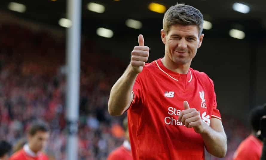 Liverpool's departing captain, Steven Gerrard, said he would 'buy players that are ready to come and fight and be successful'.