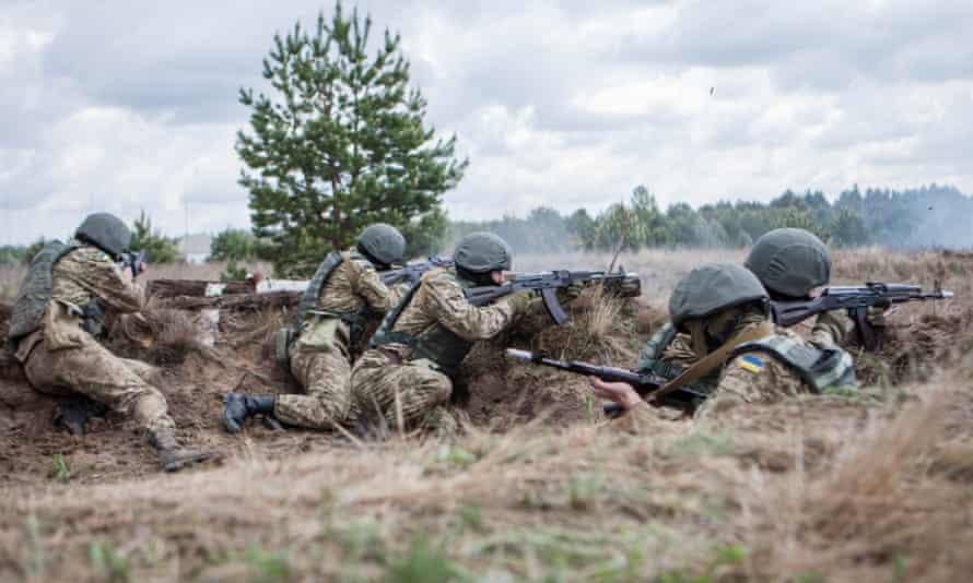 Ukraine army cadets