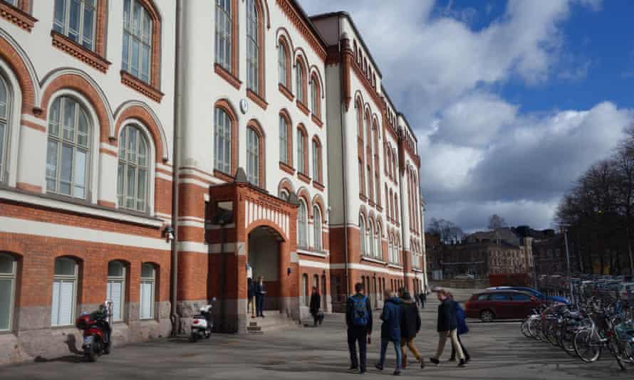 The Normal Lyceum in Helsinki.