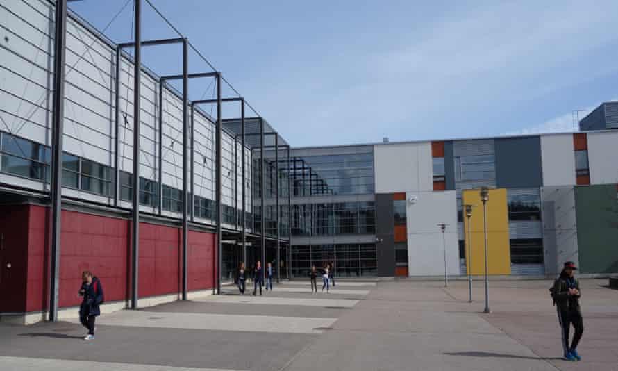 The Viikki teacher training school in eastern Helsinki.