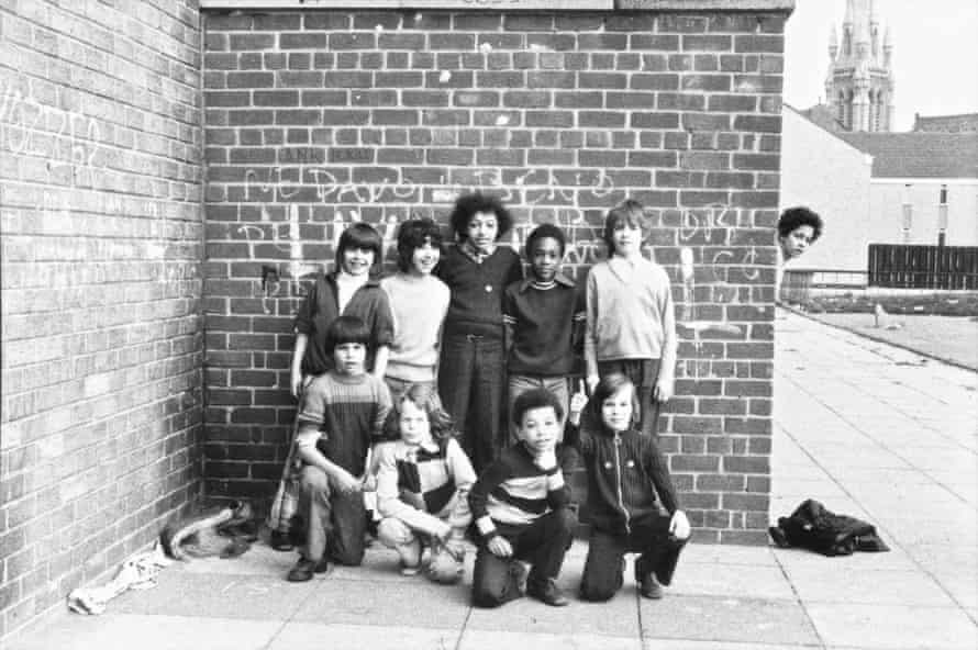 Street football team in Toxteth