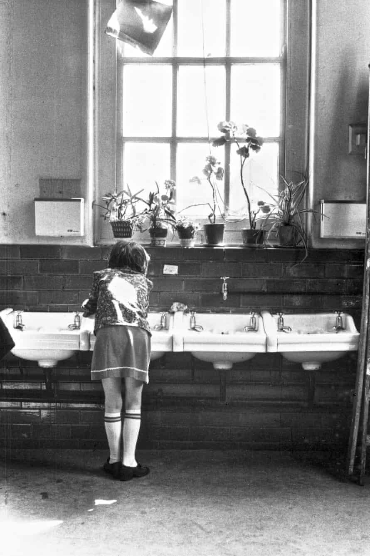Toxteth - School wash basins