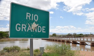 The dwindling Rio Grande river supports agriculture in much of the southwest.