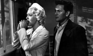Lana Turner and John Garfield in the 1946 film version of The Postman Always Rings Twice.