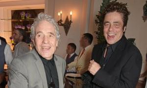 Abel Ferrara and Benicio del Toro in Cannes, May 15.