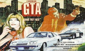poster for the Grand Theft Auto PlayStation game