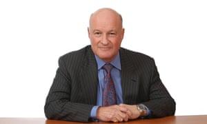 Co-operative Bank chief executive Niall Booker.