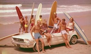 California 1960s surfers