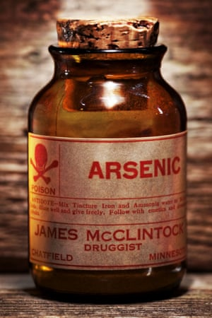 Arsenic in a jar
