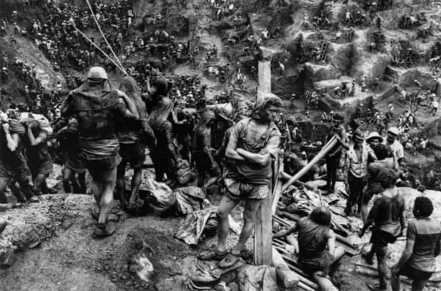 The opencast mine at Serra Pelada, Brazil, 1986.