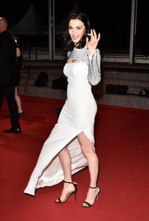Rachel Weisz at the premiere of The Lobster.