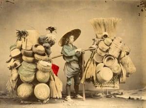 Basket seller