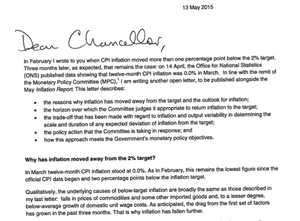 Carney's open letter