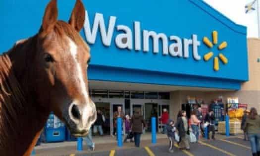 The original Walmart dot horse image.