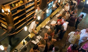 Tasting room at Buena Vista Winery.