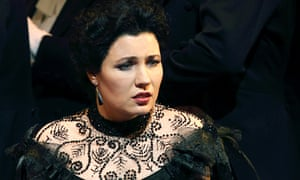 Marina Rebeka as Violetta in La Traviata