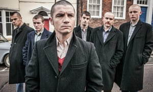 Jody Latham leads the skinheads in Inspector George Gently. Photograph: Mark Bourdillon/BBC/Company