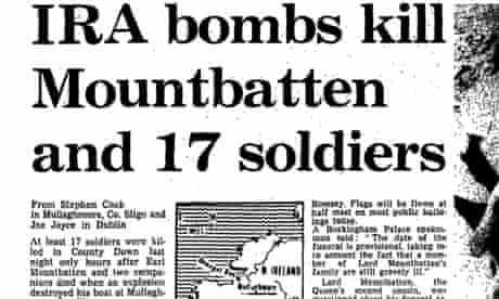 Ira Bomb Kills Lord Mountbatten Guardian Reporting From 1979 Uk News The Guardian