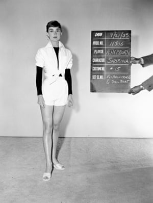 Costume test for Sabrina, Paramount Pictures, 1953 by an unknown photographer