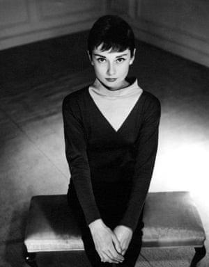 Audrey Hepburn by Antony Beauchamp, 1955