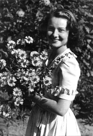 Audrey Hepburn after the liberation of Holland by an unknown photographer, 1946