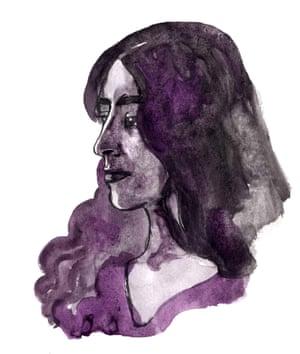 self-portrait Amruta Patel
