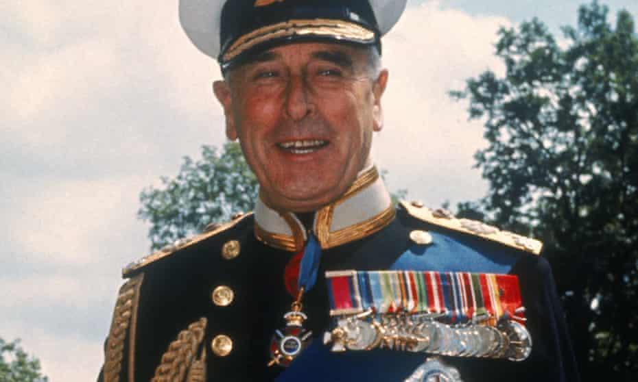 Lord Louis Mountbatten, Admiral of the Fleet.