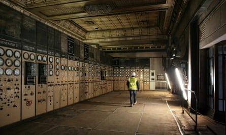 The old control room at Battersea Power Station.