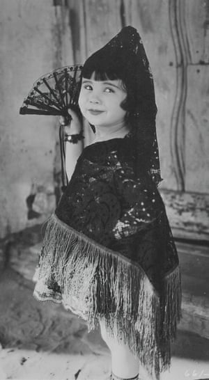 Baby Peggy as two different characters in Carmen, 1923.