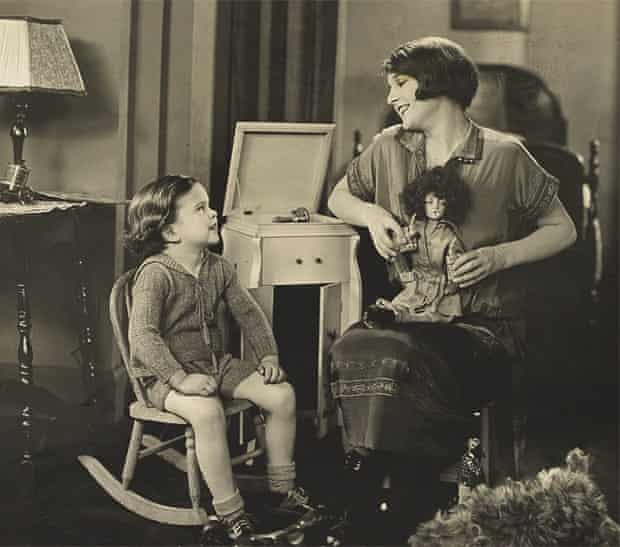 Jack C Edwards today (below), and as a boy with silent screen star Eleanor Boardman.
