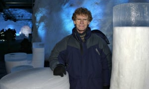 Cary Fowler, the Crop Trust's senior adviser, at the Svalbard vault.