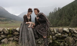 Scots miss… Caitriona Balfe and Sam Heughan in Outlander