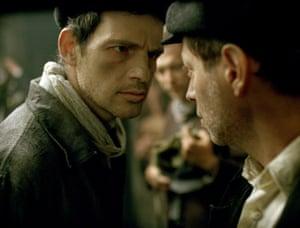 Géza Röhrig, left, in Son of Saul, directed by László Nemes.
