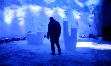 The temperature inside Svalbard Global Seed Vault is kept at -18C.