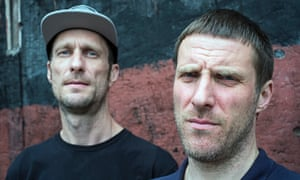 Sleaford Mods … Jason Williamson and Andrew Fearn.