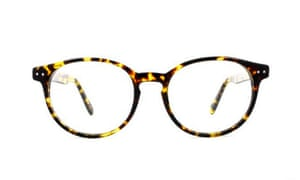 Round tortoiseshell, £75, by Scout, from glassesdirect.co.uk.