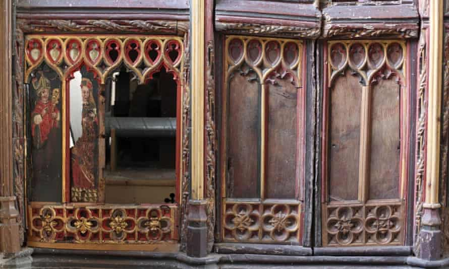 The panels which were recognised by a collector