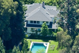 Mark Zuckerberg's house in Palo Alto, California.